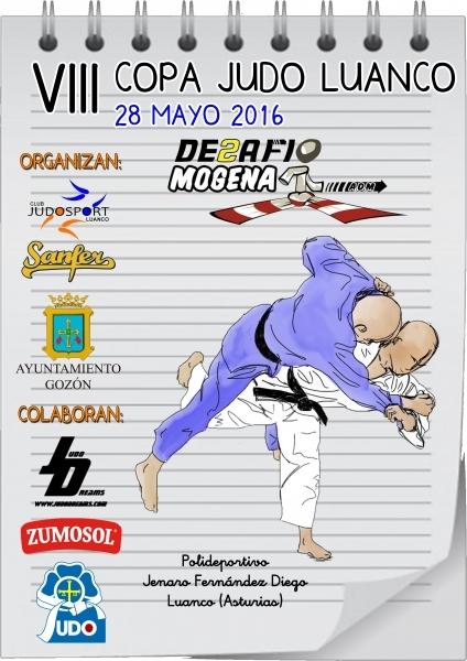 VIII Copa Judo Luanco - Desafío Mogena 2016.