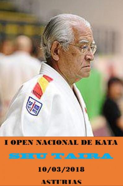 I Open Nacional de Kata - Maestro Shu Taira