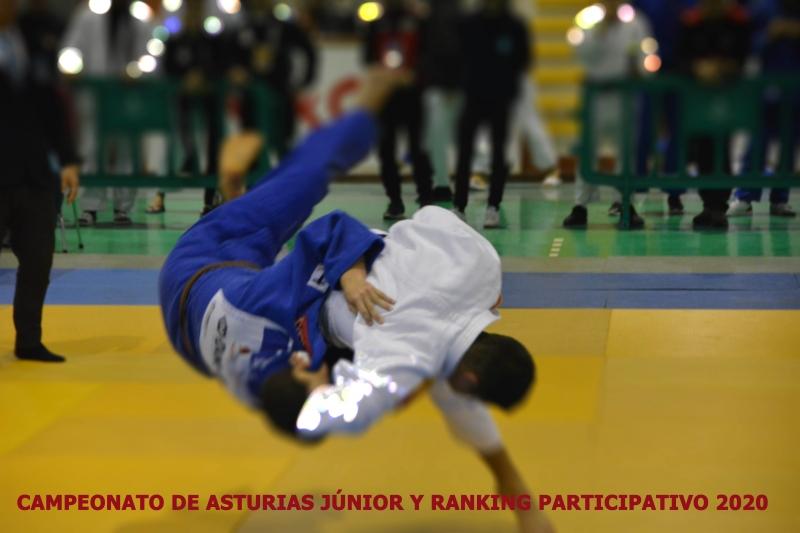 Campeonato de  Asturias Júnior y Randoris Mixtos