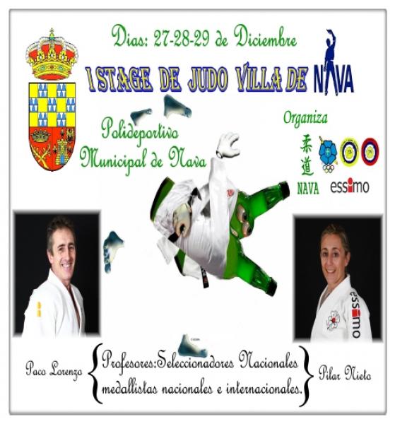 Stage de Judo - Nava 2013
