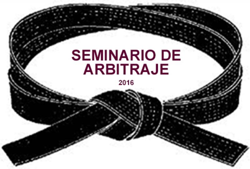 Seminario de Arbitraje 2016