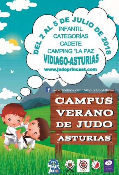 CAMPUS DE VERANO DE JUDO