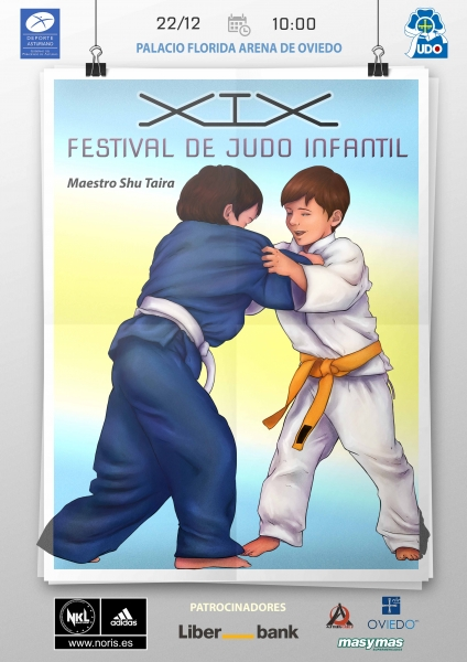 "XIX Festival Infantil de Judo ""Maestro Shu Taira"""