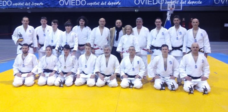 Buen nivel técnico en el Campeonato de Asturias de Kata