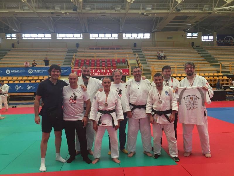 Buena actuación de los Veteranos en el Campeonato de España