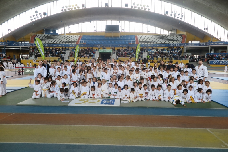 "Simplemente, ""ESPECTACULAR"" El Festival de Judo Infantil"