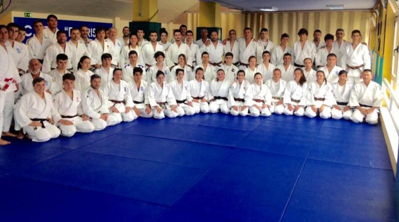 Curso de kata de la Federación Asturiana de Judo