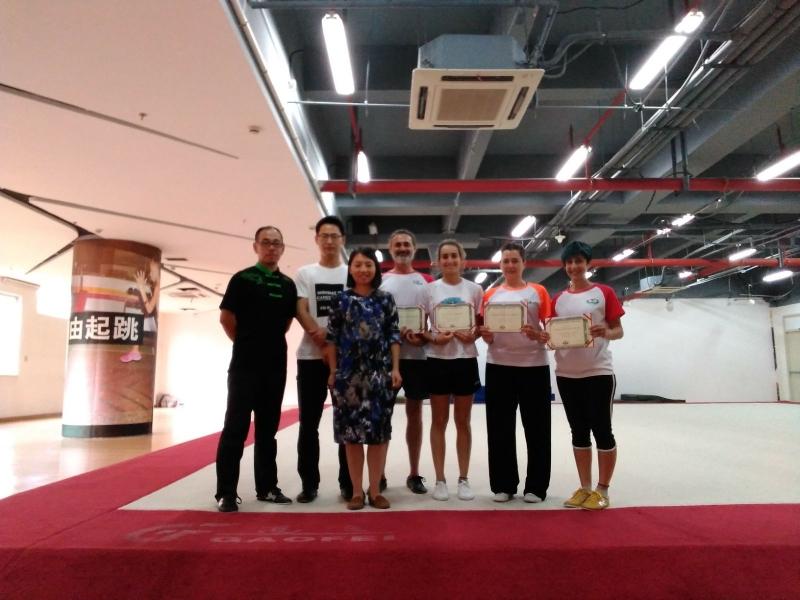 Equipo Astur de Wushu a China 2017