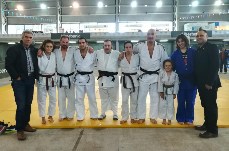El Judo asturiano en la I Feria Deporte y Salud de Mieres