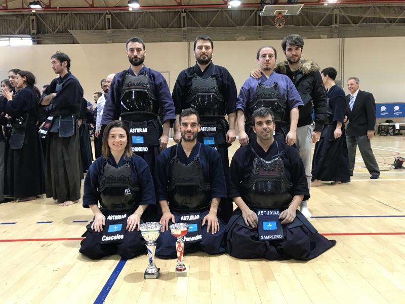 Desirée se alzó por quinto  año campeona de España de Kendo