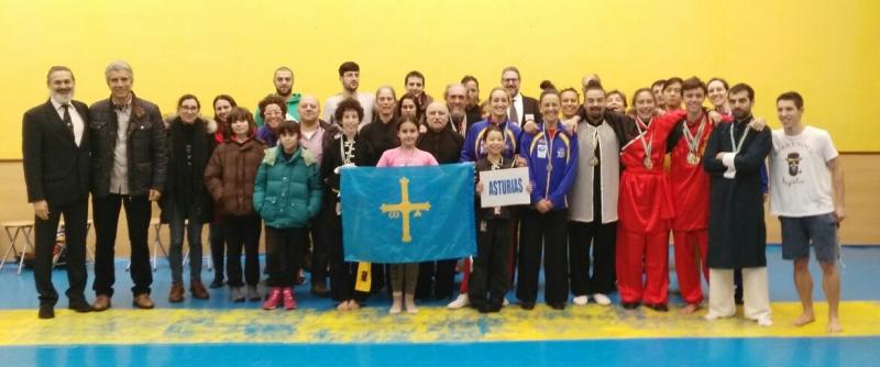 IX Campeonato de Asturias de Wushu 2017