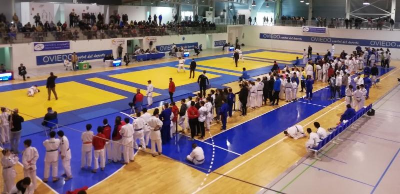 Buena participación y buen judo en el  Florida Arena de Oviedo