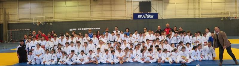 200 Judokas en el Alevin