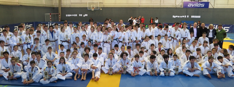 200 Judokas en la final Infantil y Cadete