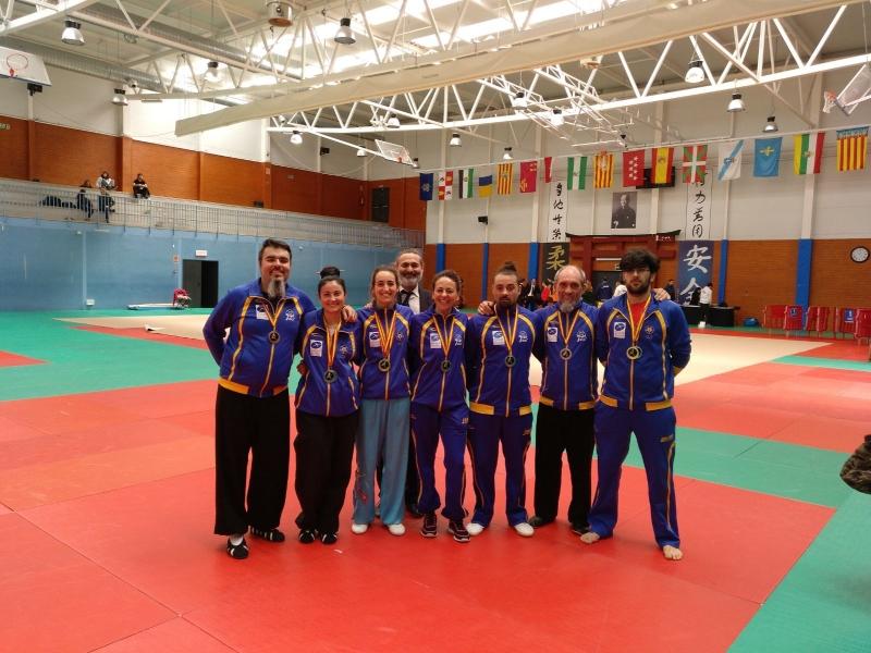 X Campeonato de España de Wushu tradicional 2018.
