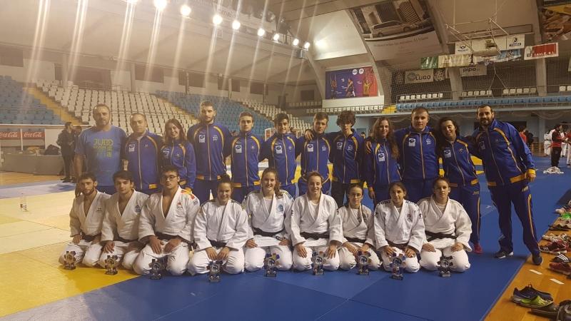 Asturias logra nueve medallas en el sector absoluto con plaza para la fase final