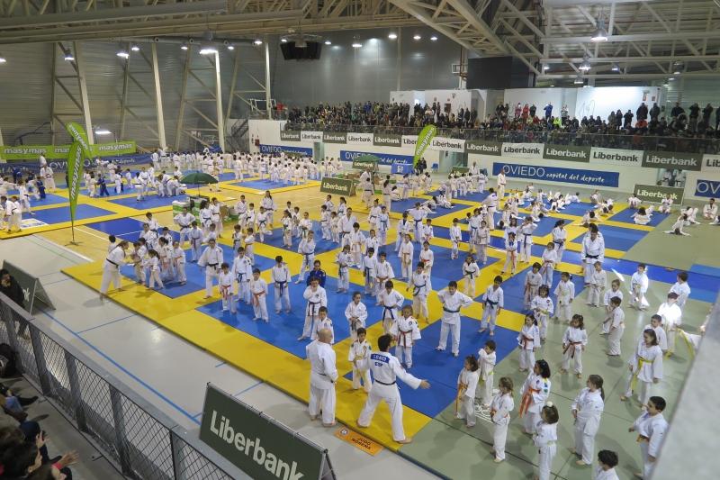 Cuando el judo es una fiesta.