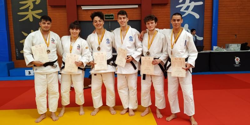 Pleno de medallas para Asturias en la Copa de España de katas