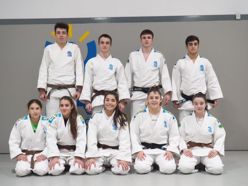 Nueve judokas asturianos, con la selección española cadete