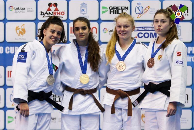 Oro en la Copa de Europa de Málaga de Ariane Toro Soler!
