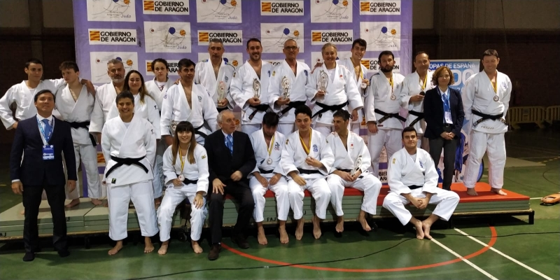 La selección asturiana de Kata, vuelve por la puerta grande en Aragón.