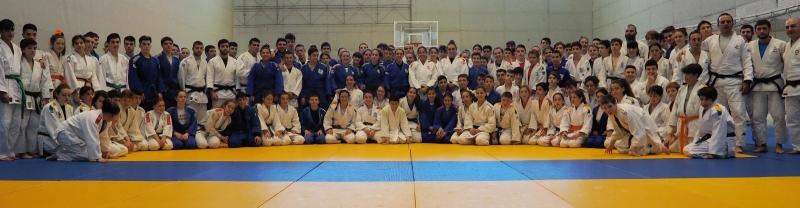 Éxito de convocatoria en el I Stage Urbano de Judo Asalia Beya en Gijón