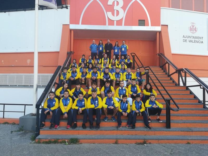 Diez medallas para Asturias en el nacional infantil y cadete