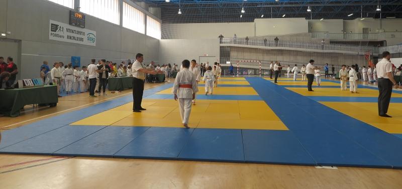 200 Judokas en la final Alevin.