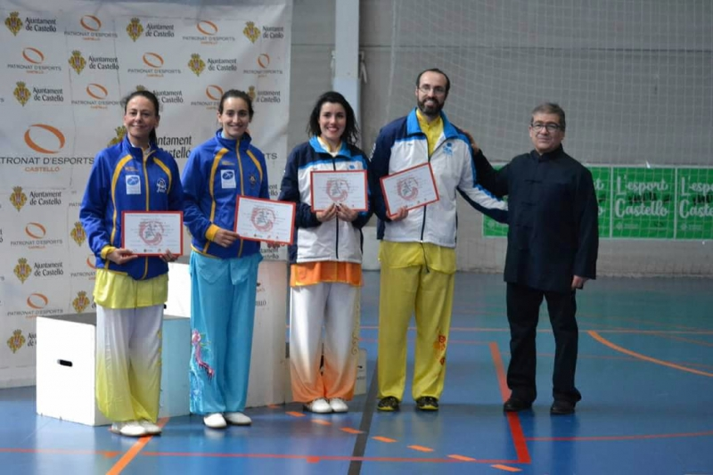 Campeonato de España de Wushu tradicional 2019.
