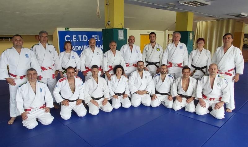 CURSO ACTUALIZACIÓN PASE DE GRADOS 1-6º DAN DE JUDO