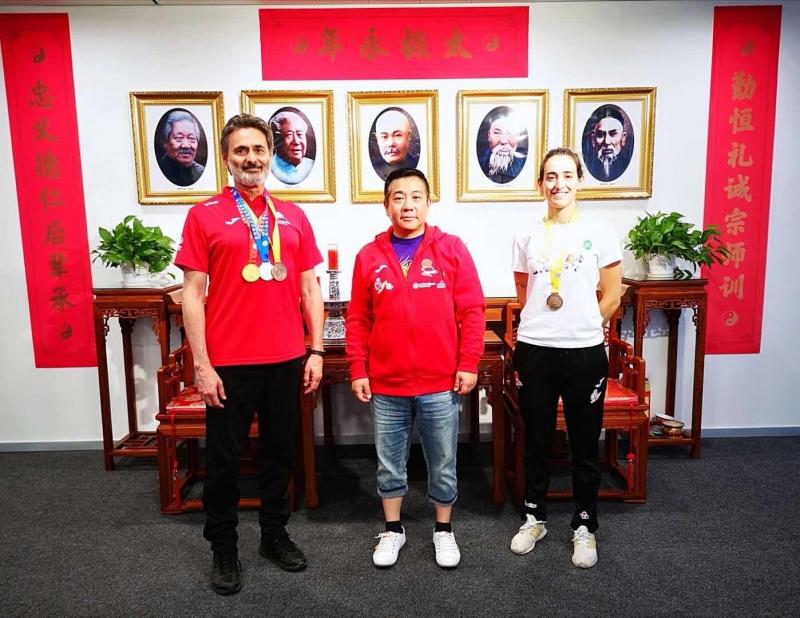 Campeonato mundial de wushu tradicional en China 2019.