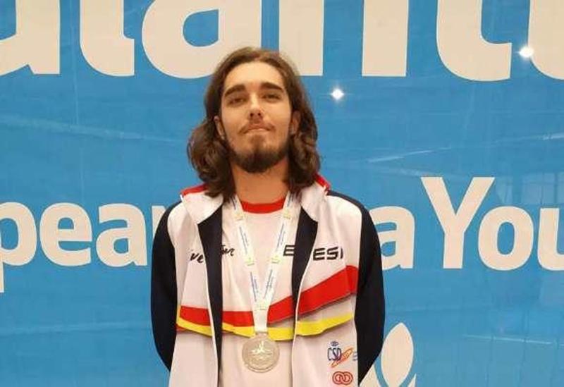 Chamorro, plata en la Paralimpiada Europea