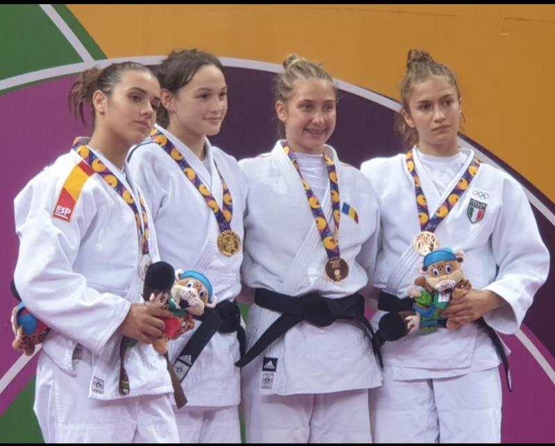 Ariane Toro, plata en las Olimpiadas juveniles de Bakú