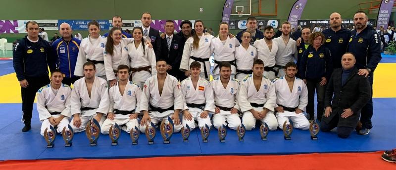 Gran actuación de Asturias en el sector senior con catorce medallas