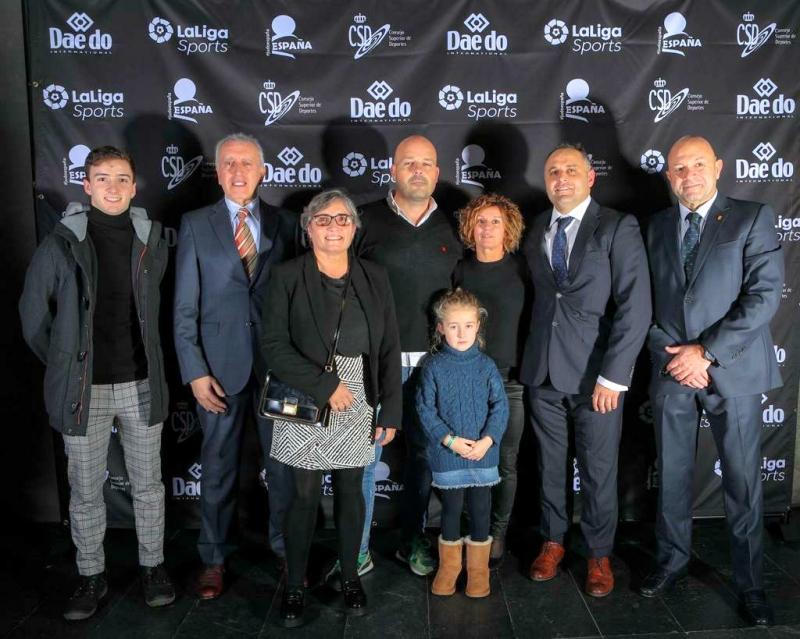 Asturias, bien representada en la Gala del Judo Español