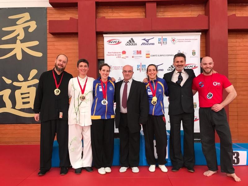 V Campeonato Open de Taichi y Estilos internos de Wushu 2020