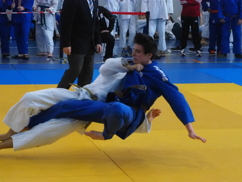 200 judokas se dieron cita en Tudela Agüeria