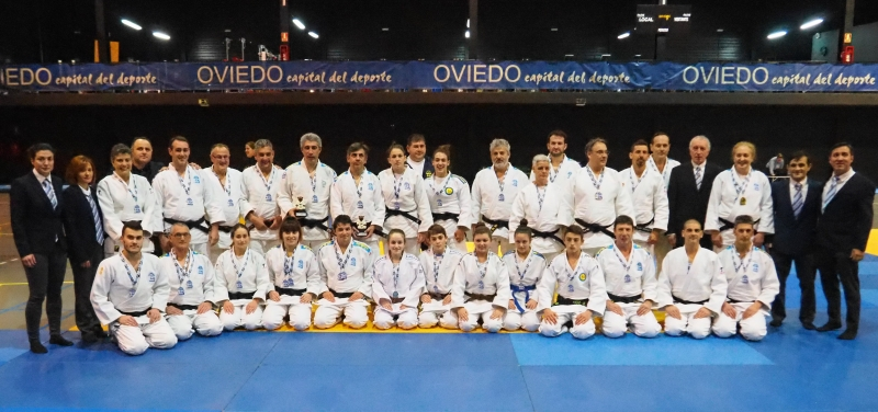 Éxito organizativo en la Copa de España de katas de judo