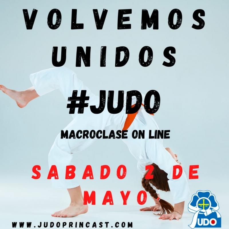 El 2 de mayo queremos volver a hacer judo CONTIGO