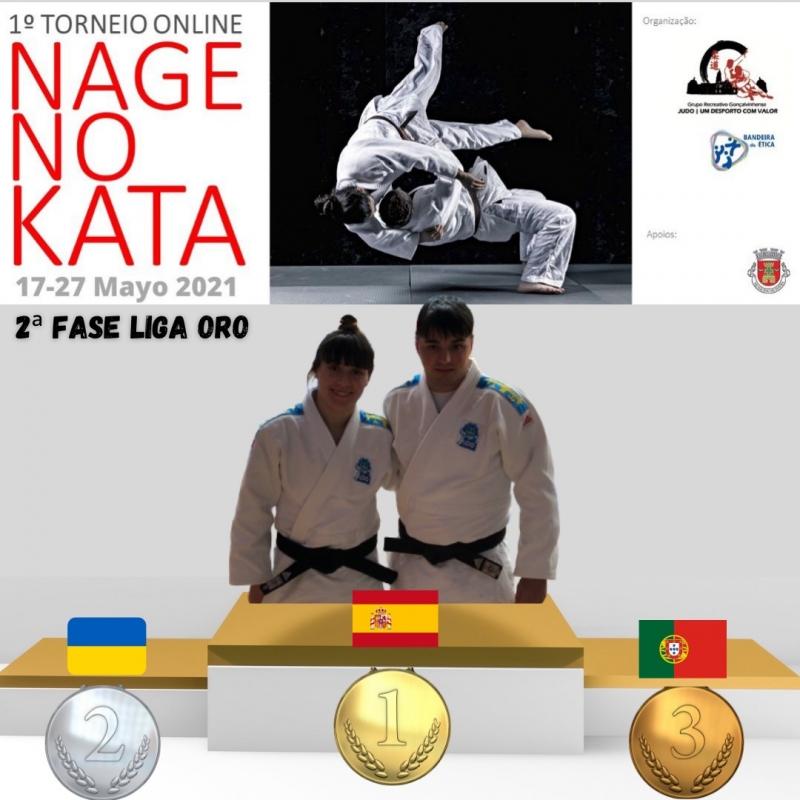 I Torneo Internacional de Nage No Kata On-Line organizado por el club @grgoncalvinhense de Portual.