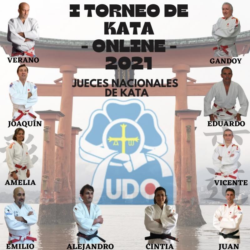 Jueces nacionales de Kata I Torneo Online